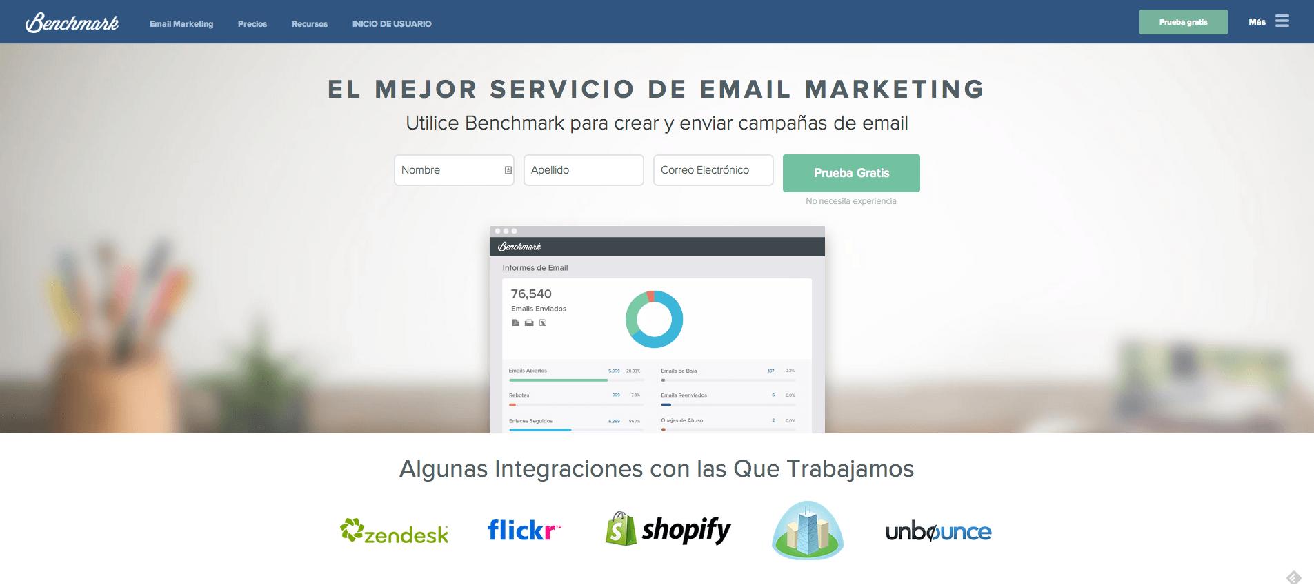 BenchMark: EmailMarketing en Español
